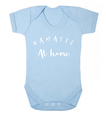 Namaste at home Baby Vest pale blue 18-24 months