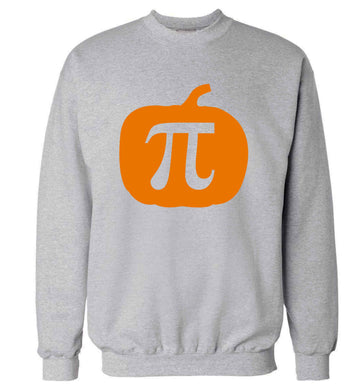 Pumpkin Pie adult's unisex grey sweater 2XL