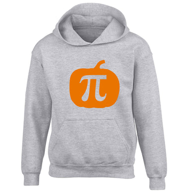 Pumpkin Pie children's grey hoodie 12-13 Years