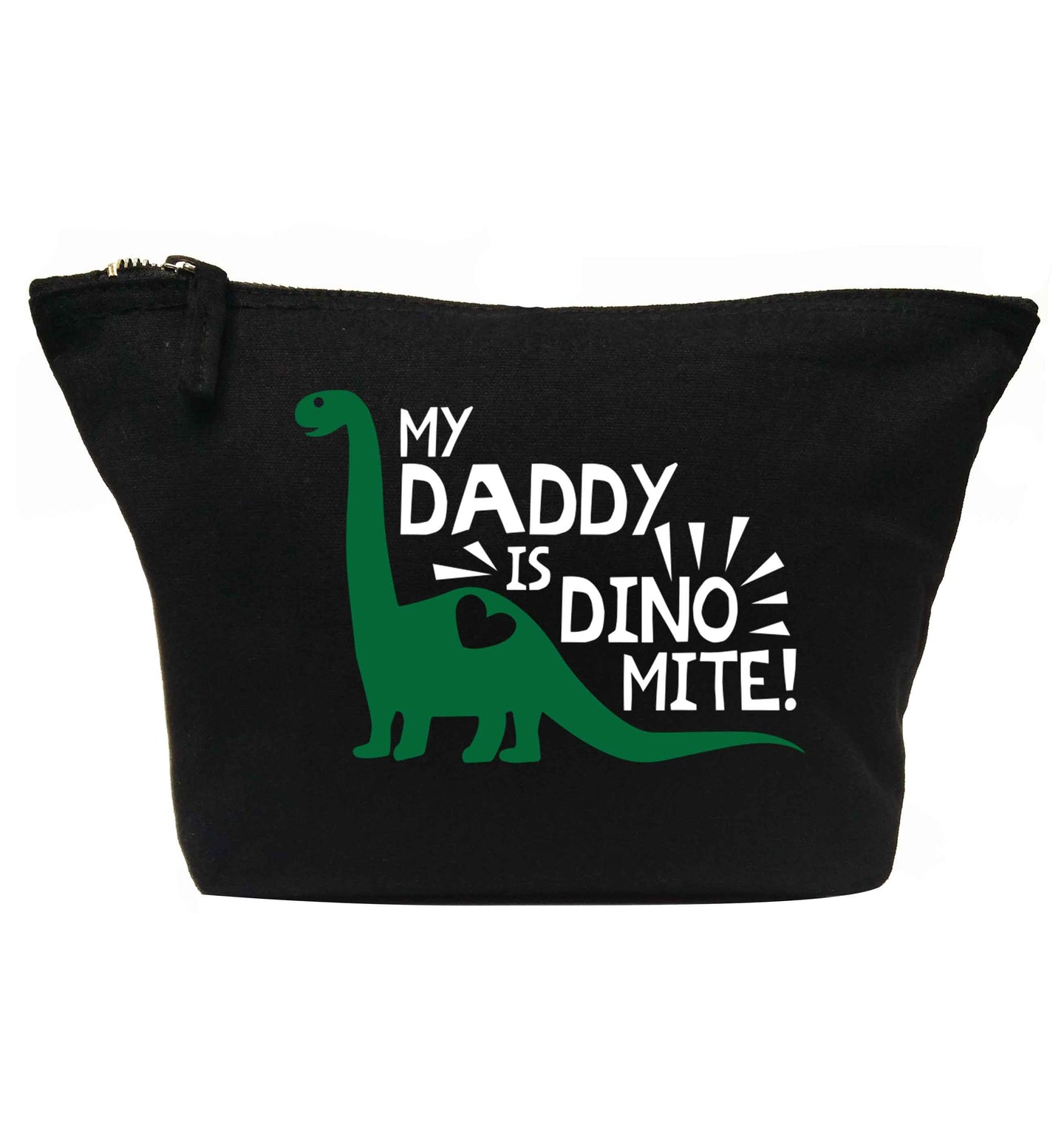 My daddy is dinomite! | makeup / wash bag