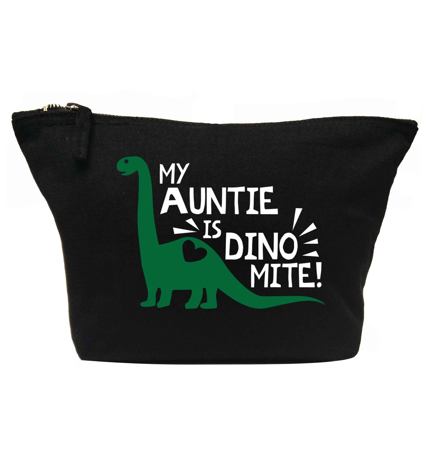 My auntie is dinomite! | makeup / wash bag