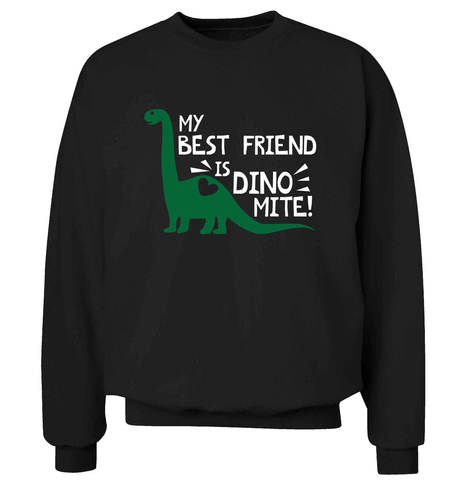 My cousin is dinomite! Adult's unisex black Sweater 2XL