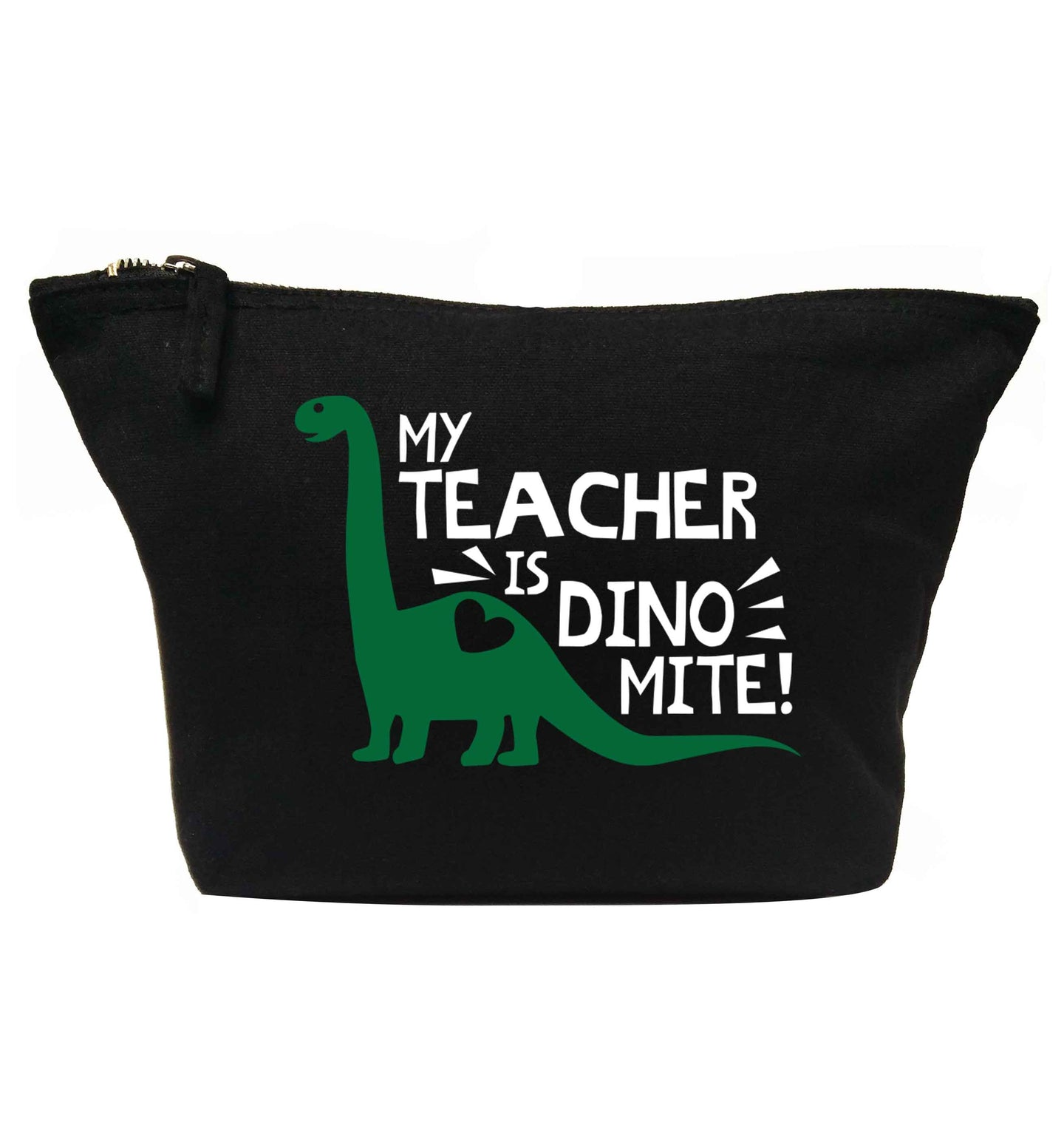 My teacher is dinomite! | makeup / wash bag