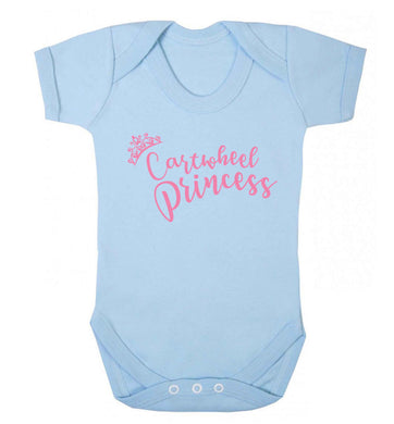 Cartwheel princess Baby Vest pale blue 18-24 months