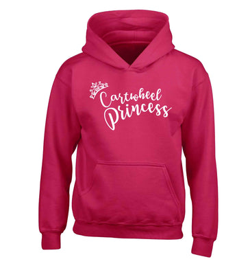 Cartwheel princess children's pink hoodie 12-13 Years