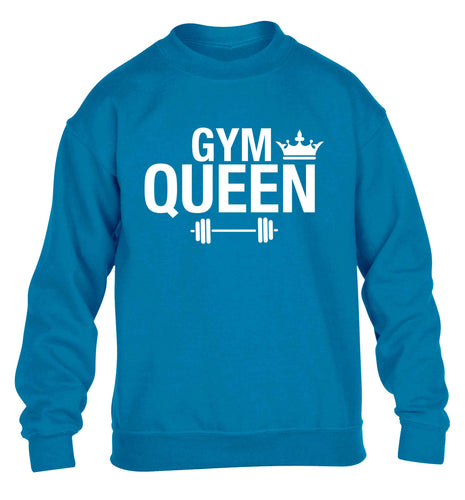 Gym queen children's blue sweater 12-13 Years