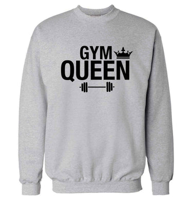 Gym queen Adult's unisex grey Sweater 2XL