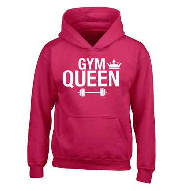 Gym queen children's pink hoodie 12-13 Years