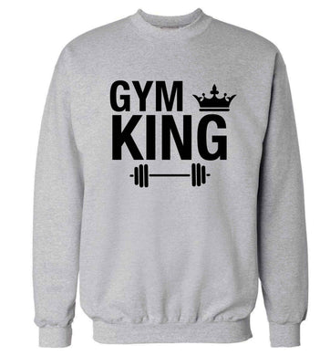 Gym king Adult's unisex grey Sweater 2XL