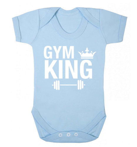 Gym king Baby Vest pale blue 18-24 months