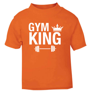 Gym king orange Baby Toddler Tshirt 2 Years