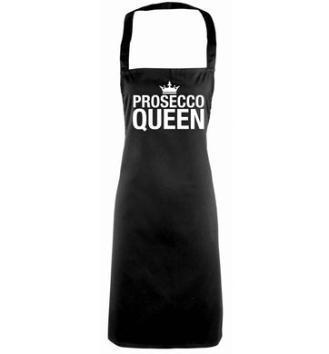 Prosecco queen black apron