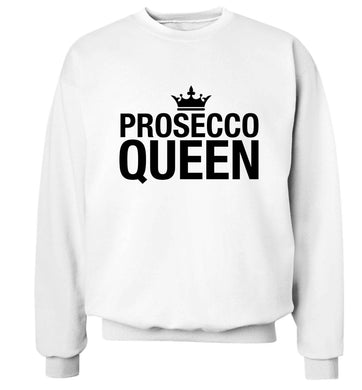 Prosecco queen Adult's unisex white Sweater 2XL