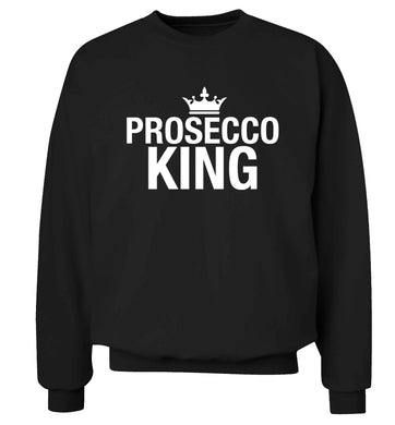 Prosecco king Adult's unisex black Sweater 2XL
