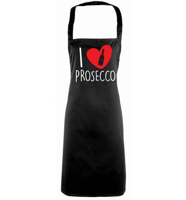 I love prosecco black apron