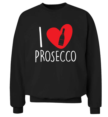 I love prosecco Adult's unisex black Sweater 2XL