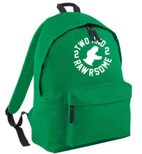Two and rawrsome green adults backpack