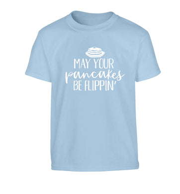 May your pancakes be flippin' Children's light blue Tshirt 12-13 Years