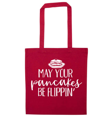 May your pancakes be flippin' red tote bag