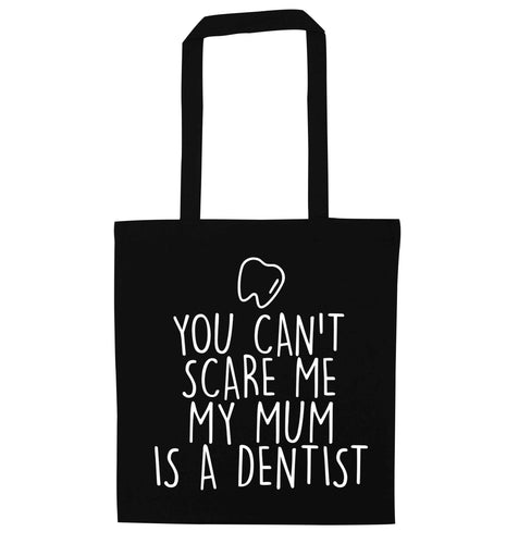Minty Kisses Tooth Fairy (a) black tote bag