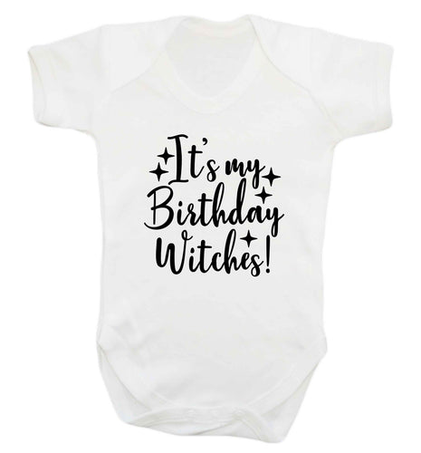 It's my birthday witches!baby vest white 18-24 months