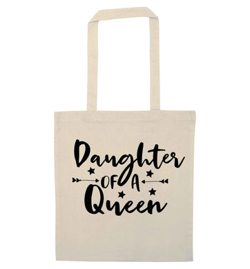 Daughter of a Queen natural tote bag
