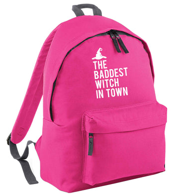 Badest witch in town | Children's backpack