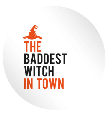 Badest witch in town 24 @ 45mm matt circle stickers