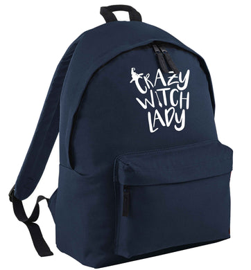 Crazy witch lady | Children's backpack