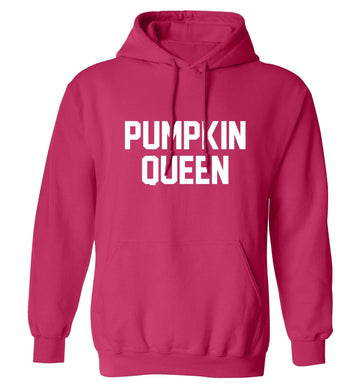 Pumpkin Queen adults unisex pink hoodie 2XL