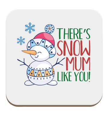 There's snow mum like you set of four coasters