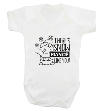 There's snow fiance like you baby vest white 18-24 months