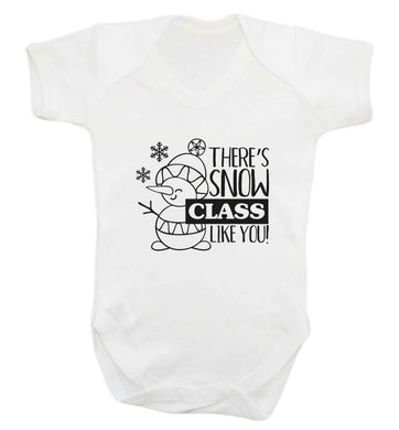 There's snow class like you baby vest white 18-24 months