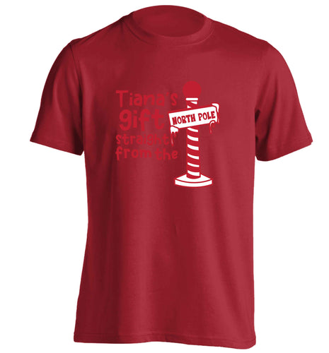 Merry Christmas adults unisex red Tshirt 2XL