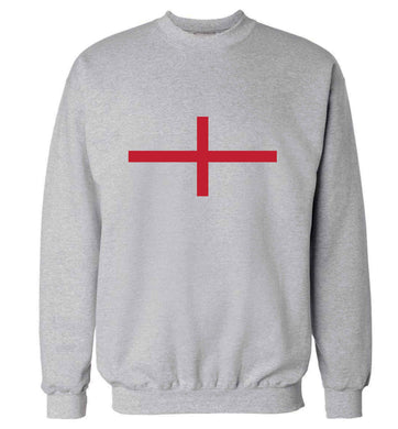 England Flag adult's unisex grey sweater 2XL