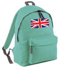 Union Jack mint adults backpack