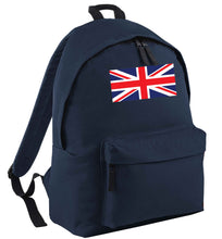 Union Jack navy adults backpack
