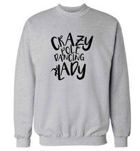 Best Things Happen Dancing adult's unisex grey sweater 2XL