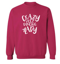 Best Things Happen Dancing adult's unisex pink sweater 2XL