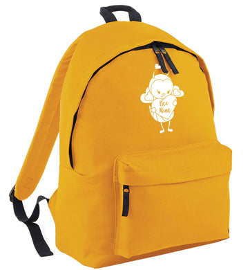 Bee mine mustard adults backpack