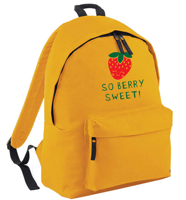 So berry sweet mustard adults backpack