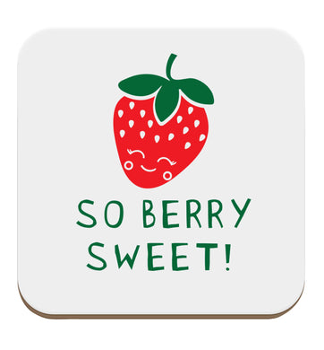 So berry sweet set of four coasters