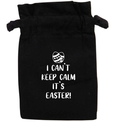 I can't keep calm it's Easter | XS - L | Pouch / Drawstring bag / Sack | Organic Cotton | Bulk discounts available!