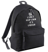 I can't keep calm it's Easter black adults backpack