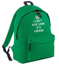 I can't keep calm it's Easter green adults backpack