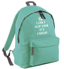 I can't keep calm it's Easter mint adults backpack
