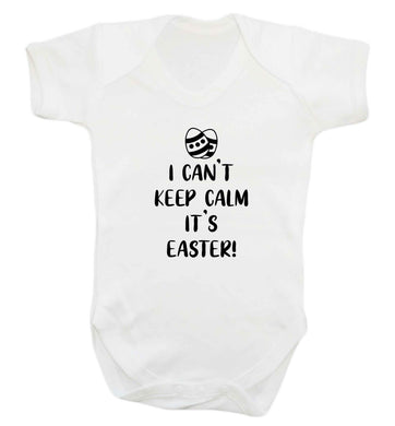 I can't keep calm it's Easter baby vest white 18-24 months