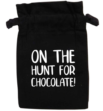 On the hunt for chocolate! | XS - L | Pouch / Drawstring bag / Sack | Organic Cotton | Bulk discounts available!