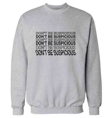Viral funny memes! Designs for the gen z generation!  adult's unisex grey sweater 2XL