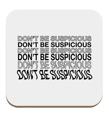 Viral funny memes! Designs for the gen z generation!  set of four coasters